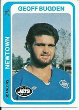 Newtown Jets 1979 Season NRL & Rugby League Trading Cards