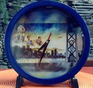 GSW Memorabilia Collectors' Wall Clock