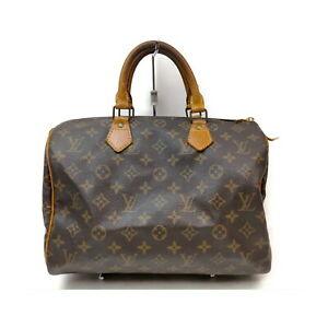 Louis Vuitton LV Hand Bag Speedy 30 M41526 Browns Monogram 2206856