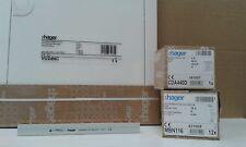 Hager Verteiler Sicherungskasten UP 1x VU24NC 12x MBN116 1x CDA440D 1x KDN363A