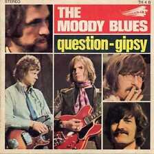 "MOODY BLUES ""QUESTION/GIPSY"" ORIG FR 1970"