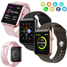 Touchscreen Smart Watch Fitness Tracker Pedometer for LG Samsung S20 S10e S9 S8+
