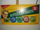 Wembley Beer Bottle Cap Lights Set of 10 Multi-Color Happy Hour String Light Set