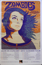ZOMBIES, ALIVE IN CONCERT POSTER  (F3)