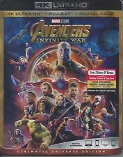 THE AVENGERS INFINITY WAR (4K ULTRA HD/BLURAY)(2 DISC SET)(USED)