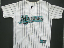 VINTAGE MAJESTIC MLB FLORIDA MIAMI MARLINS DAN UGGLA YOUTH MEDIUM JERSEY WOMEN