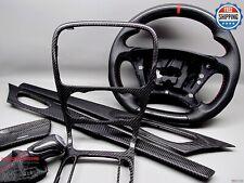 Mercedes 02-04 R230 SL500 SL55 SL65 SL350 Gloss Finish Carbon Interior Trim Kit