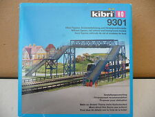 KIBRI HO 9301 GRAND PASSERELLE PIETONS   état neuf en boite