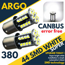 2x 44 Led Canbus Error Free Super Bright White Bulbs 1157 380 Rear Stop & Tail