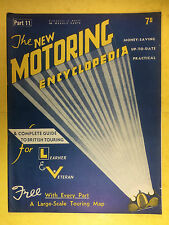 The NEW MOTORING ENCYCLOPEDIA - 1936 - Part 11 - Epicyclic Gear - Exhaust Pipe