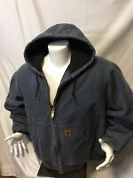 Carhartt Mens Jacket Size 2XL Hooded Jacket Very Warm And looks almost Perfect.