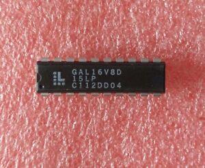 10PCS GAL16V8D GAL16V8D-15LP DIP-20 IC GOOD