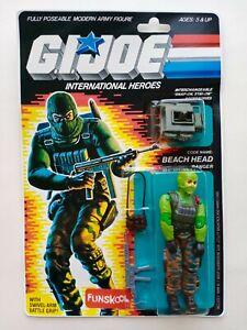 G. I. JOE Beach Head FUNSKOOL International Heroes Hasbro Vintage Action Figure