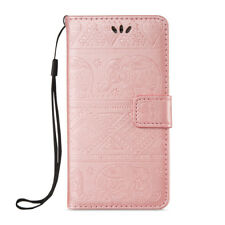 Embossed Card Slot Stand PU Leather Flip Protective Case Cover For Sony Nokia
