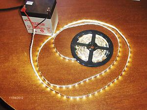 12 Volt LED light strips 5M(16FT) 300 LED's ea. roll red,green,blue,amber, white