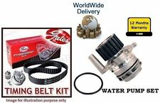 FOR VW GOLF MK5 140bhp 2.0TDi  BKD 2004-2009 WATER PUMP + TIMING CAM BELT KIT