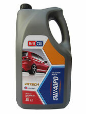 BRITOIL 5w40 Fully Synthetic Transporter  VW Shuttle Caravelle 6L T5 6 Litres