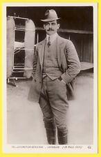 cpa LOCOMOTION AERIENNE Pionnier de l'Aviation Le Pilote EUGENE LEFEBVRE en 1909