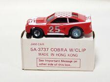 IDEAL TCR Cobra Jam Car Vintage Slot Car Slotless 1977 Racing w/ Original Box