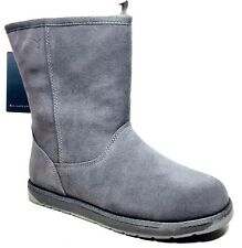 EMU Australia Spindle Lo Genuine Sheep Fur Boot size 5 Charcoal / Anthracite