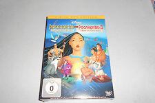 DVD Disney Pocahontas 1+2 eine Indianische Legende+ Reise in eine neue Welt Neu