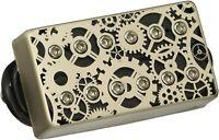 DiMarzio DP263F Dark Matter F-Spaced Humbucker Pickup Bridge 5 Output mV- Silver