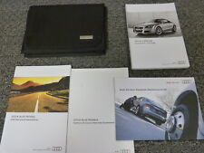 2014 Audi Quattro TT TTS  Coupe Convertible Owner Owner's Manual User Guide 2.0L