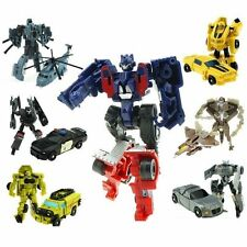 1-7PCS Transformers Toys Bee Prime Storm Guard Vehicle helicopter plane robot UK