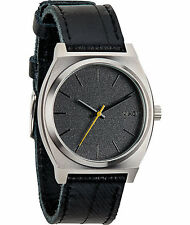 NIXON TIME TELLER (BLACK TAPE) WATCH #A045-1892 BRAND NEW in Retail BOX!!