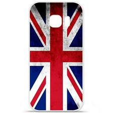 Coque Housse Etui Samsung Galaxy S6 Edge Plus en Silicone - Drap Angleterre