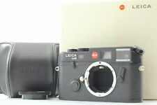【 Unused w/ Case】 Leica M6 0.58 TTL 35mm Rangefinder Film Camera Black Japan 624