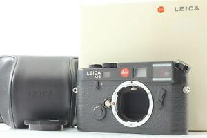 【 Unused w/ Case】 Leica M6 0.58 TTL 35mm Rangefinder Film Camera Black Japan 624
