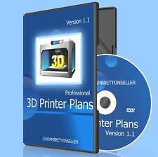 Los planes de Impresora 3D-guía de instrucciones Designs Ideas DVD