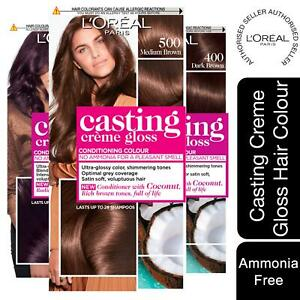 3 Pk L'Oreal Paris Casting Creme Gloss Semi-Permanent Hair Dye Choose Your Shade