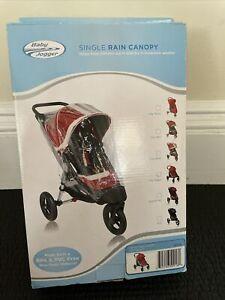 Baby Jogger Single Rain Canopy PVC BPA/PVC Free For City Select NEW