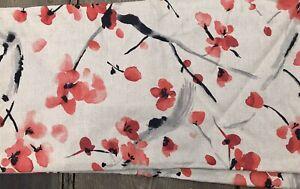 P Kaufmann CHERRY BLOSSOM FESTIVAL Linen Fabric Kyoto Garden Collection   1 yard