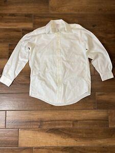 Brooks Brothers Mens White Classic Long Sleeve Dress Shirt 15 1/2 - 32/33