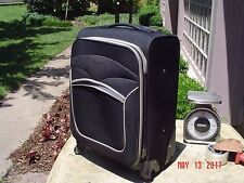 Carry-on Spinner Travel Bag Luggage w Wheels and Retractable Handle 20x13x10