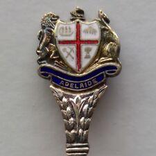 Adelaide Coat Of Arms Souvenir Spoon Teaspoon (T184)