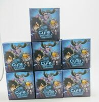 Lot of 7 BLIZZARD Cute But Deadly Series 2 Vinyl Figure Blind Box Overwatch