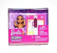 """2018 Mattel Barbie Babysitters INC 3"""" Baby Doll Hispanic Latino Accessories NEW"""