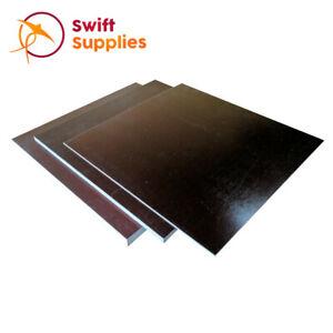 Bakelite Sheet (Fabric Reinforced) - 1.5mm x 250mm Square