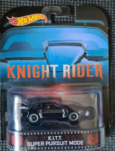 2014 HOTWHEELS - Retro Entertainment D - KNIGHT RIDER - KITT Super Pursuit Mode