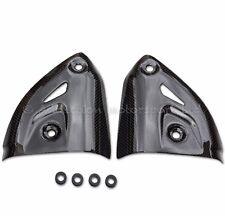Ducati Panigale 899 1199 1299 Carbon Fibre Gloss Exhaust Heat Shields Guards