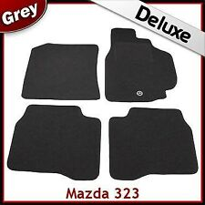 Mazda 323 1998 1999 2000 2001 2002 2003 Tailored LUXURY 1300g Car Mats GREY