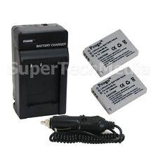 2 Battery & Charger for Canon NB-5L SD700 SD790 SD800 SD850 SD870 SD880