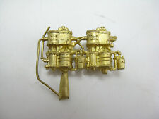 Ho-Scale Brass Westinghouse cross-Compound Air Pumps Compressors, w/ Plumbing