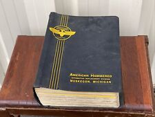 American Hammered Vintage 1960's Thick Piston Ring Sets Auto Parts Catalogs
