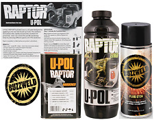 Extreme Upol Raptor Bedliner Black kit and fluid etch Primer aerosol kit Tougher