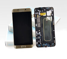Original SAMSUNG Galaxy S6 EDGE PLUS Gold SM-G928F LCD Display Rahmen Bildschirm